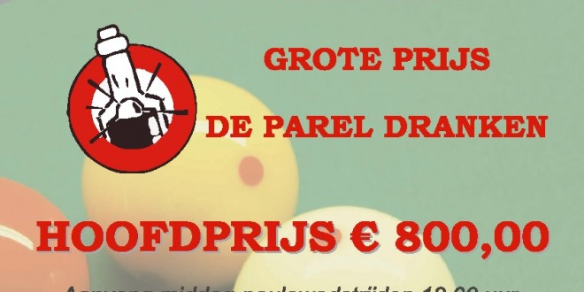 "GP ""De Parel Dranken"" start op 20 april"
